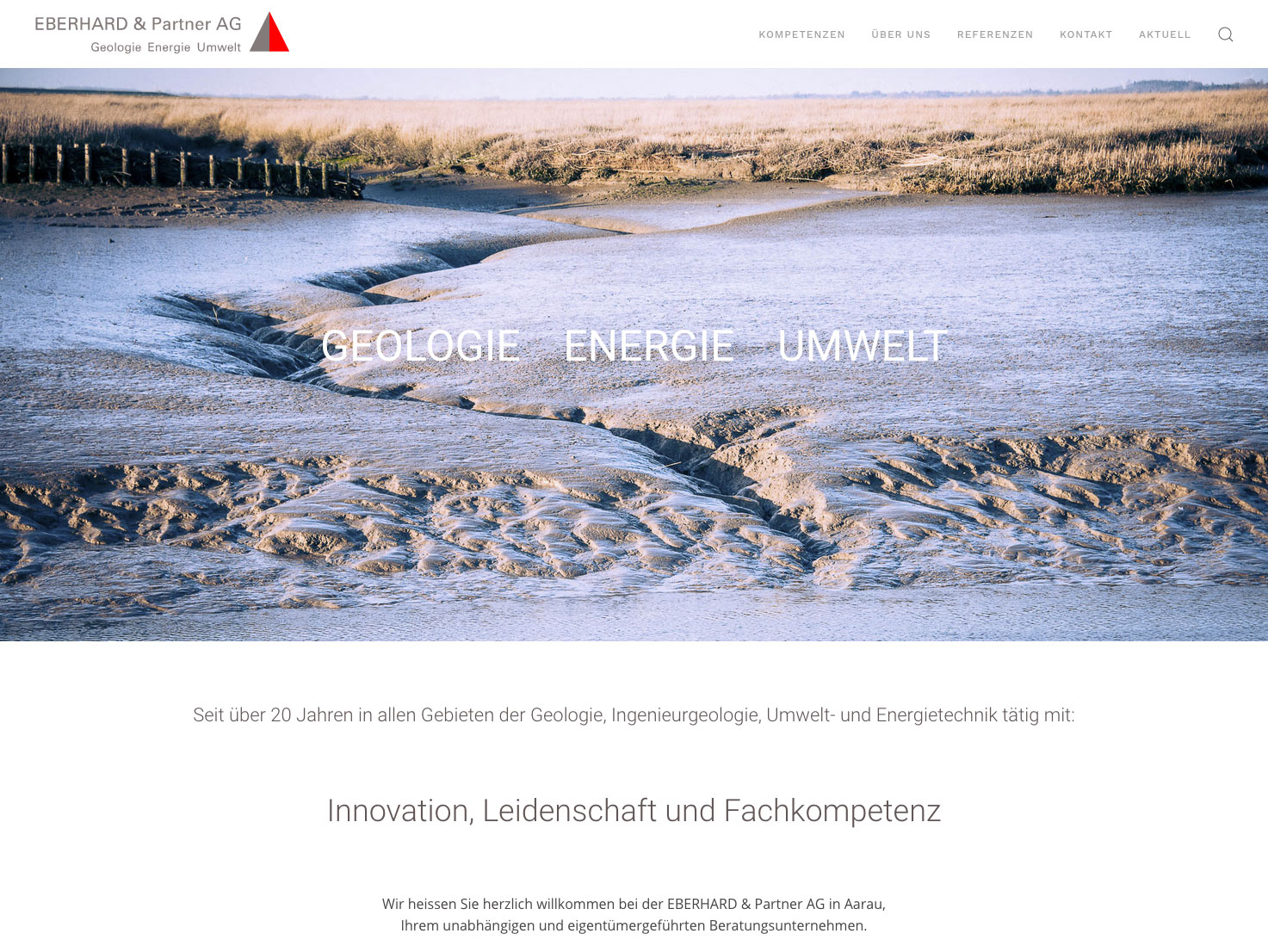 Eberhard & Partner Webdesign
